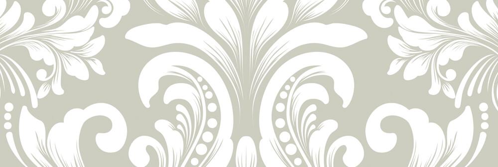 Barocktapete mit einem Muster