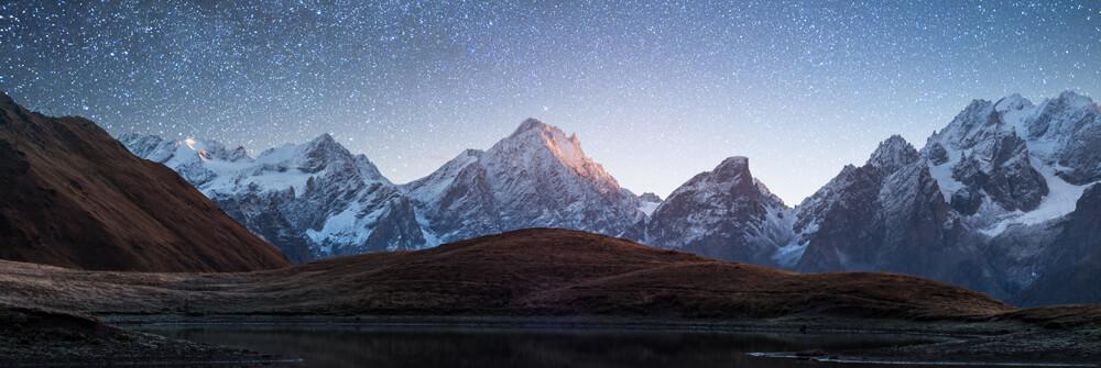 Tapete mit Berge