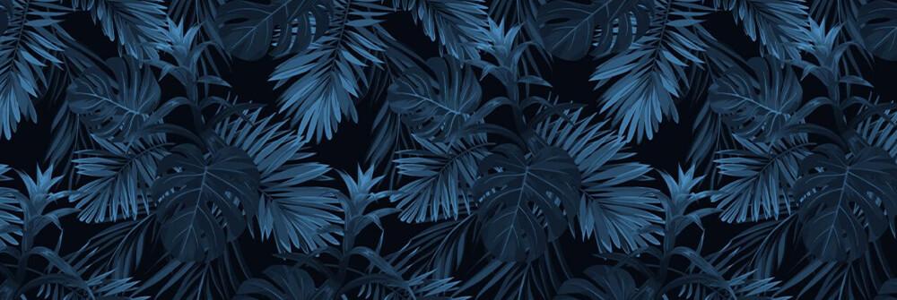 Blau Fototapete