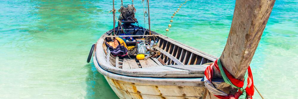 Fototapete mit Booten & Wassersport