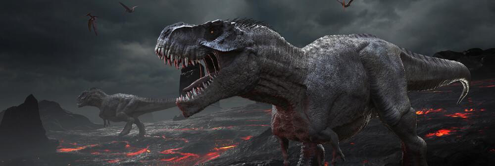Fototapete Dinosaurier