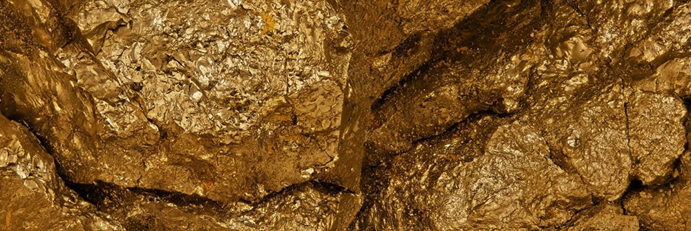 Gold Fototapete