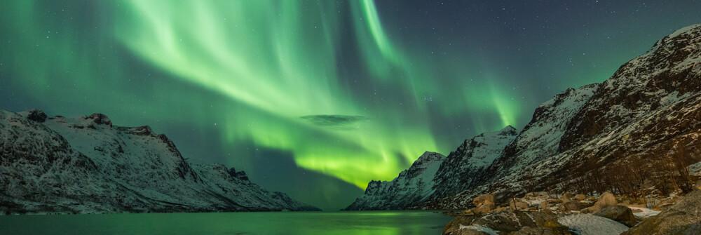 Tapete des Polarlicht