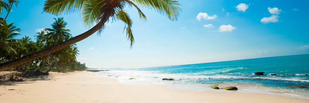 Fototapete mit Strand und Meer