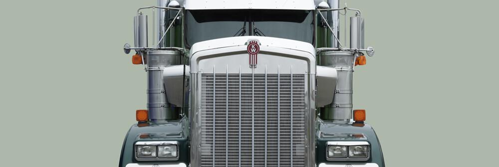 Tapete mit Lastwagen