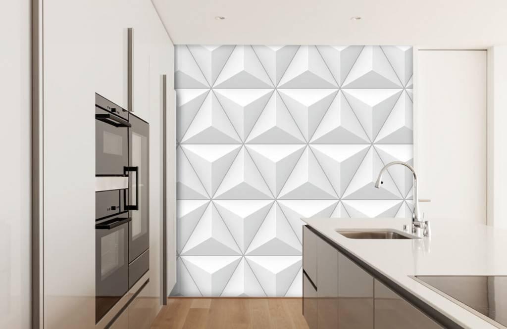 Andere Texturen und Oberflächen - 3D Dreiecke - Tagungsraum 3