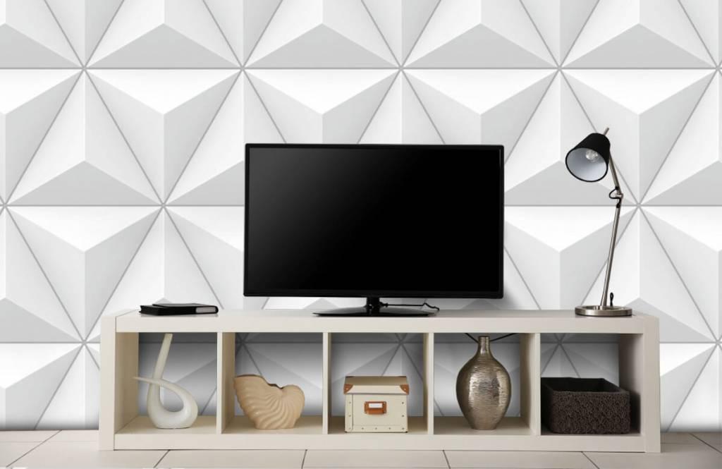 Andere Texturen und Oberflächen - 3D Dreiecke - Tagungsraum 4