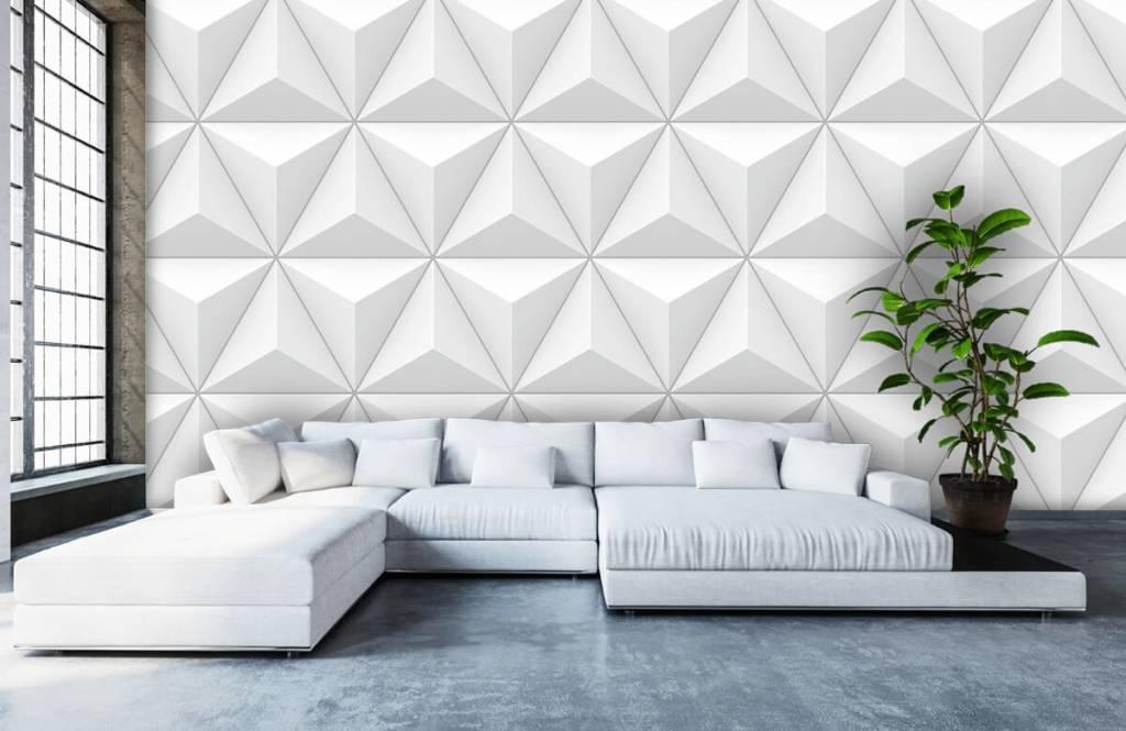 Andere Texturen und Oberflächen - 3D Dreiecke - Tagungsraum 5