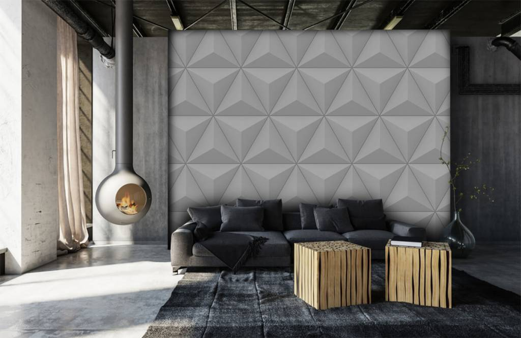 Andere Texturen und Oberflächen - 3D Dreiecke - Tagungsraum 6