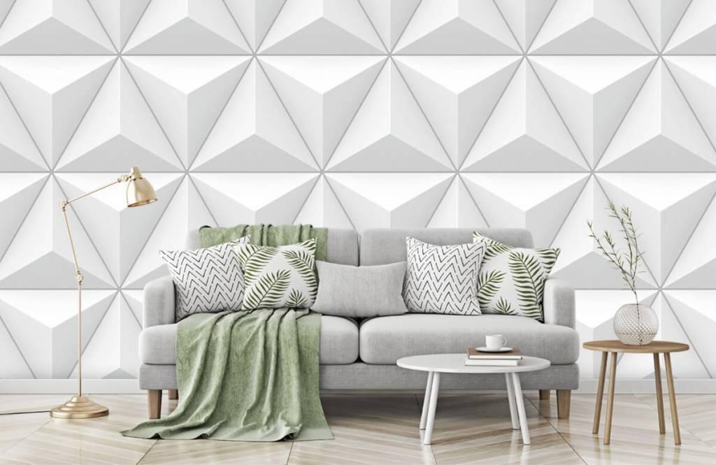 Andere Texturen und Oberflächen - 3D Dreiecke - Tagungsraum 7