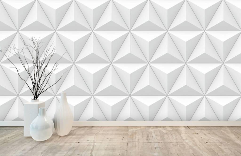 Andere Texturen und Oberflächen - 3D Dreiecke - Tagungsraum 8