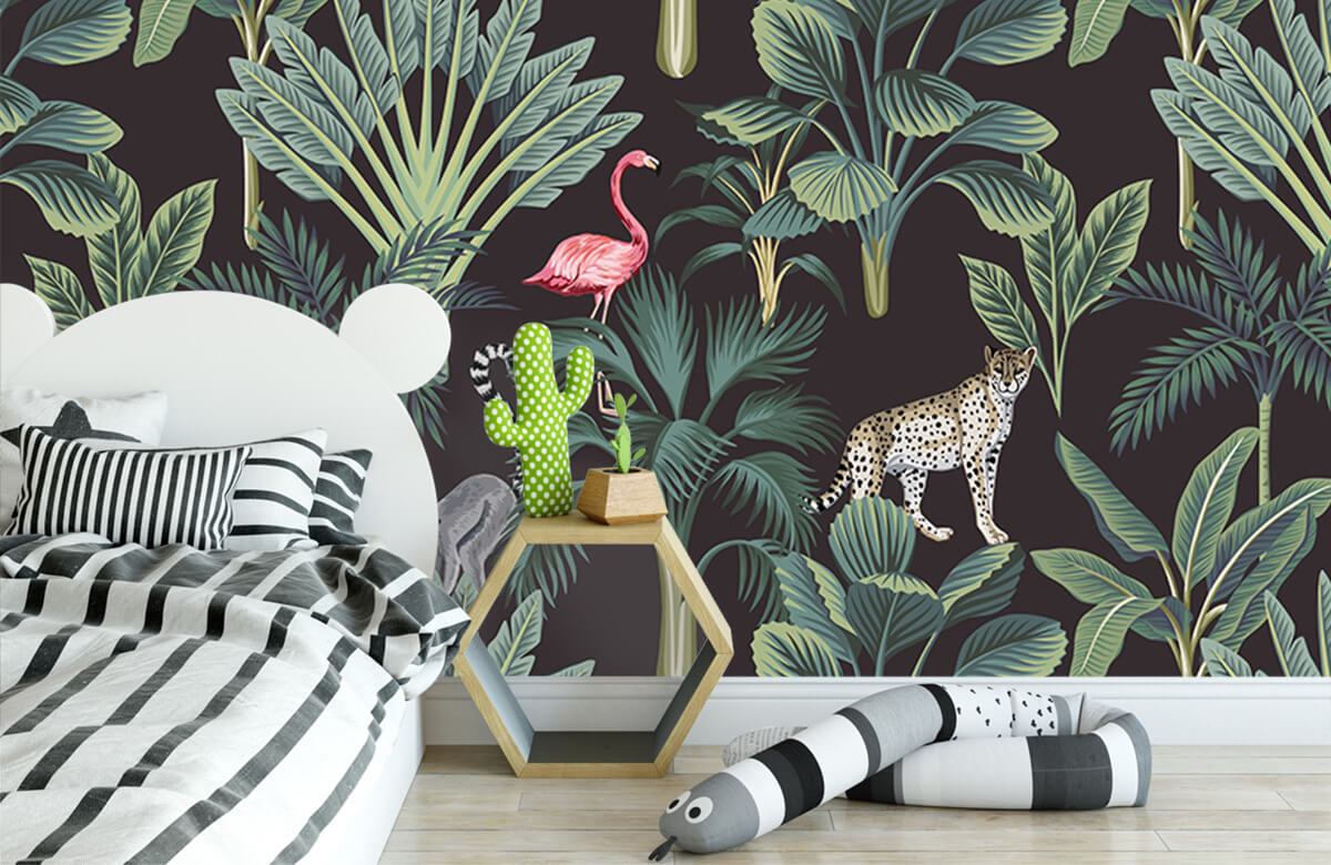 Tiere - Tropische Wildtiere - Jugendzimmer 2