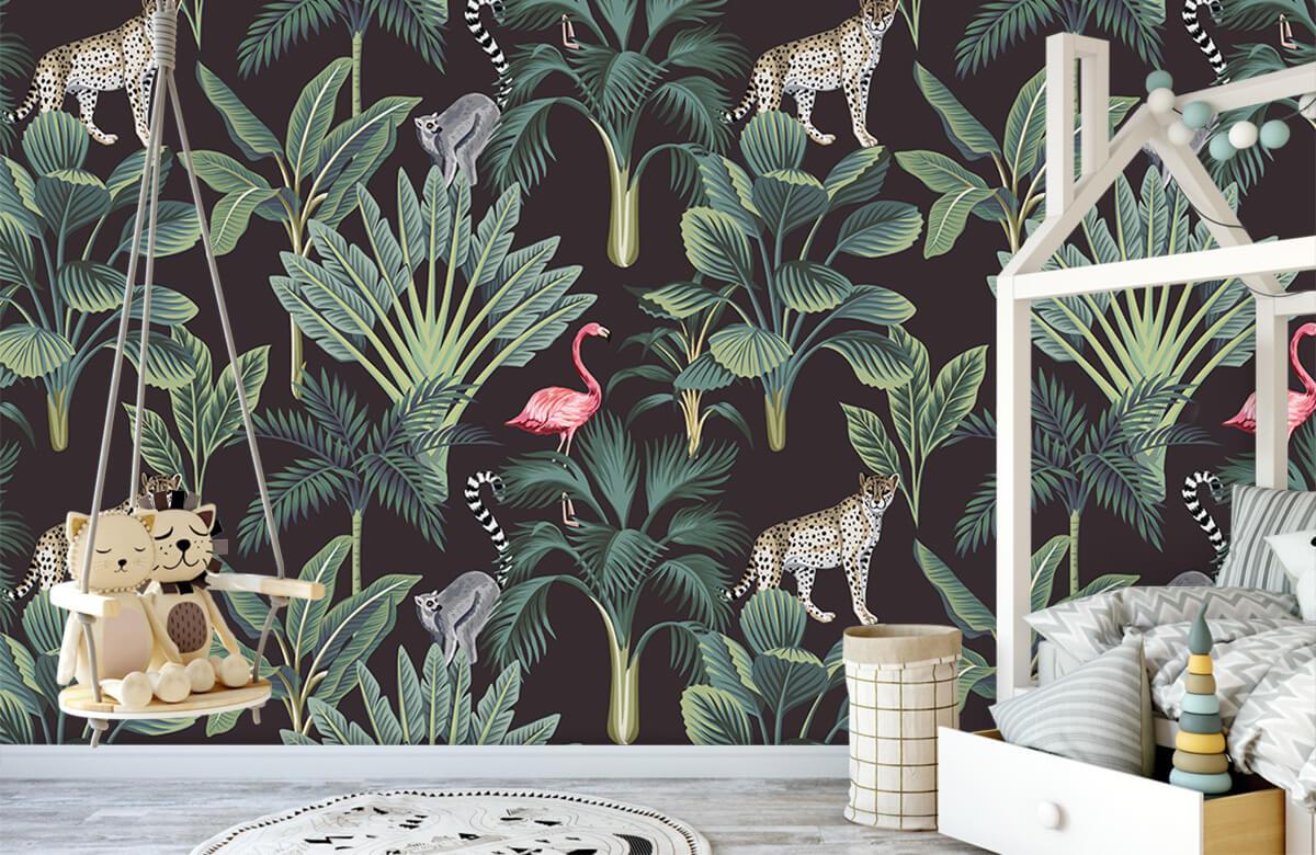 Tiere - Tropische Wildtiere - Jugendzimmer 3