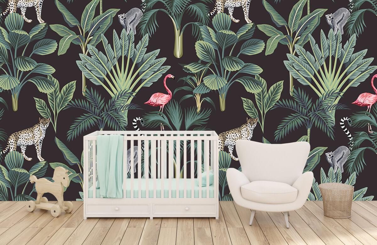 Tiere - Tropische Wildtiere - Jugendzimmer 5