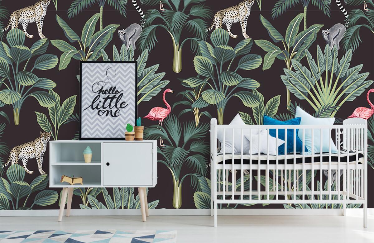 Tiere - Tropische Wildtiere - Jugendzimmer 6