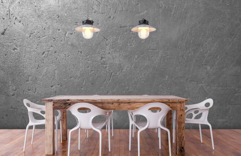 Betonoptik Tapete - Graue Betonmauer - Jugendzimmer 6