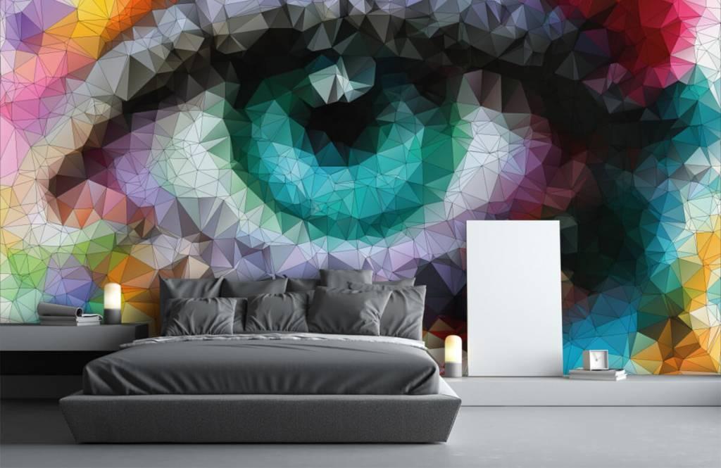 Portetten und Gesichter - Auge - Hobbyzimmer 1