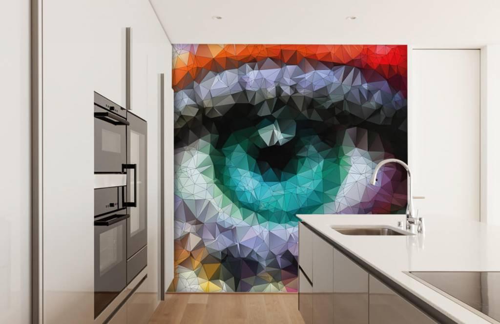 Portetten und Gesichter - Auge - Hobbyzimmer 3