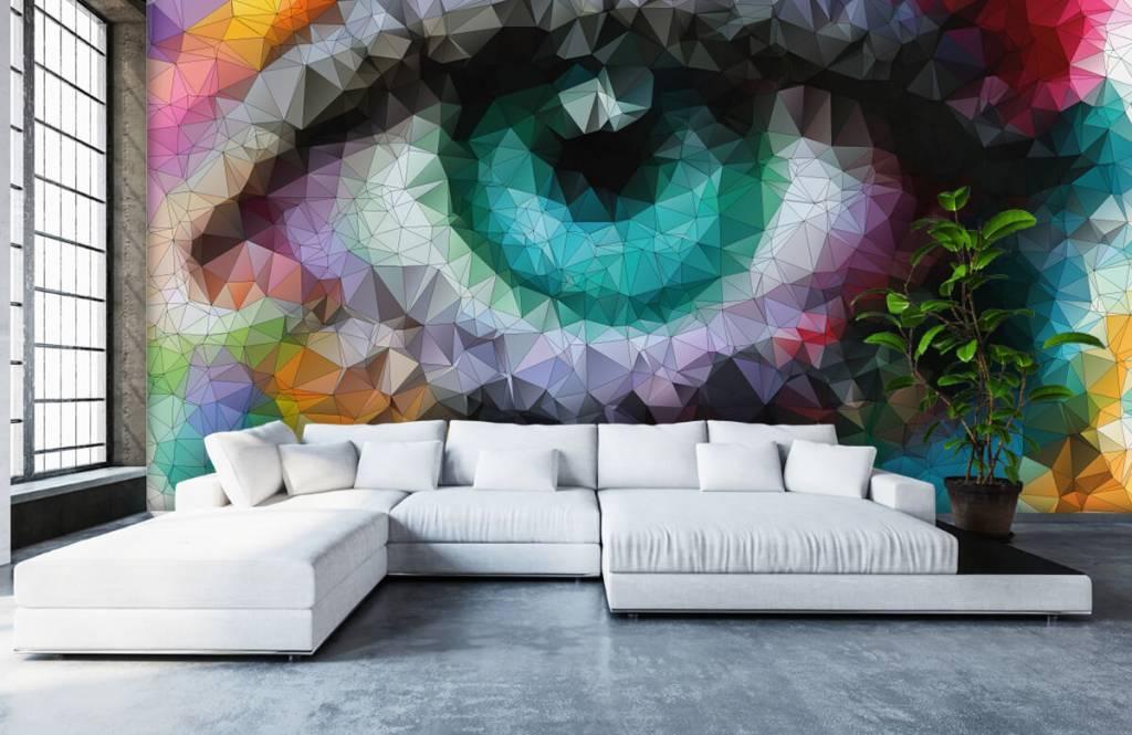 Portetten und Gesichter - Auge - Hobbyzimmer 5