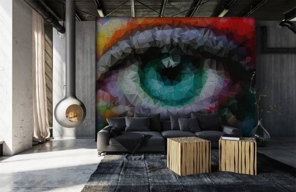 Portetten und Gesichter - Auge - Hobbyzimmer 6