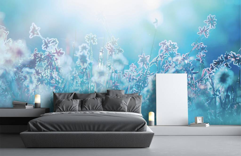 Blumenfelder - Frühling - Schlafzimmer 5