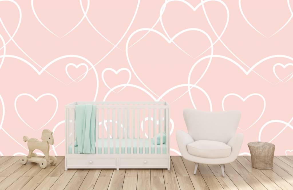 Andere - Luftige Herzen - Kinderzimmer 5