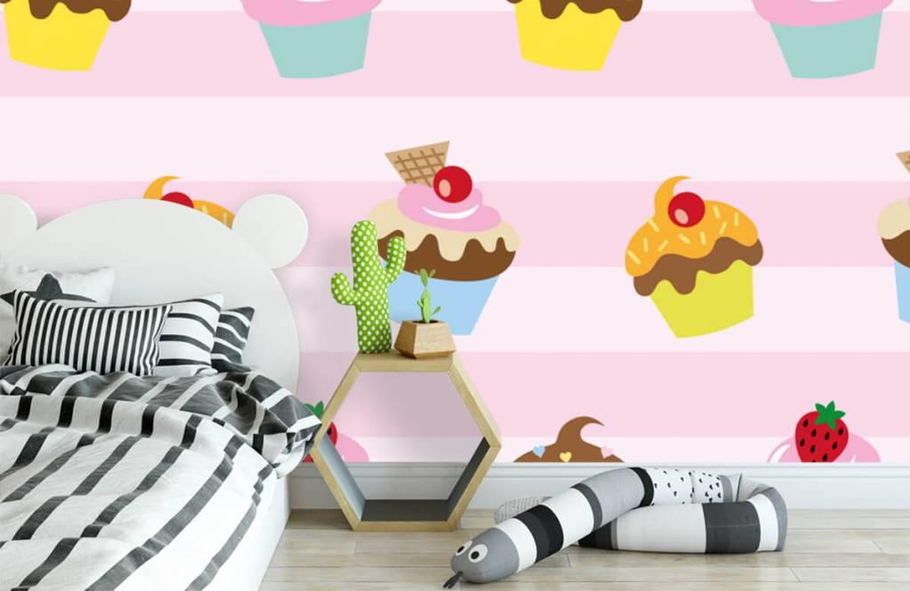 Andere - Cupcakes - Kinderzimmer 1