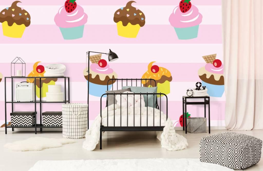 Andere - Cupcakes - Kinderzimmer 2