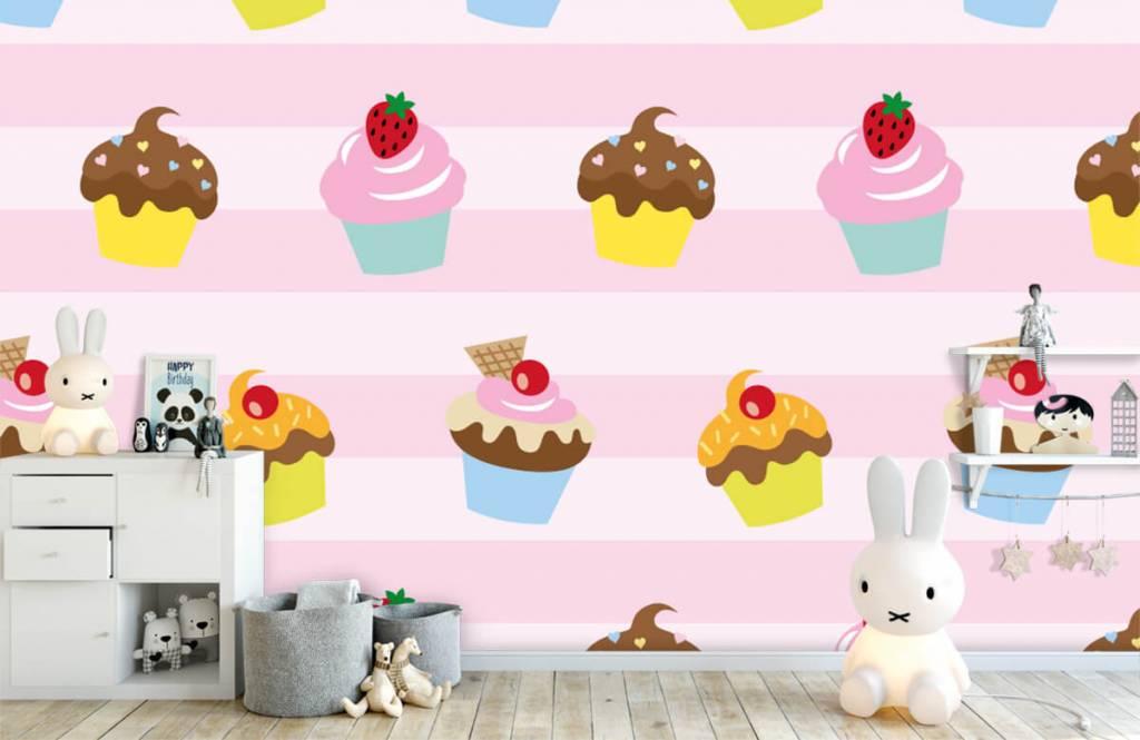 Andere - Cupcakes - Kinderzimmer 4