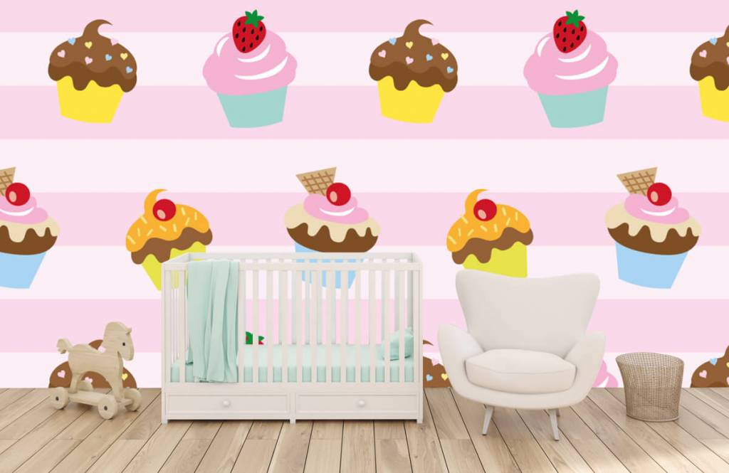 Andere - Cupcakes - Kinderzimmer 5
