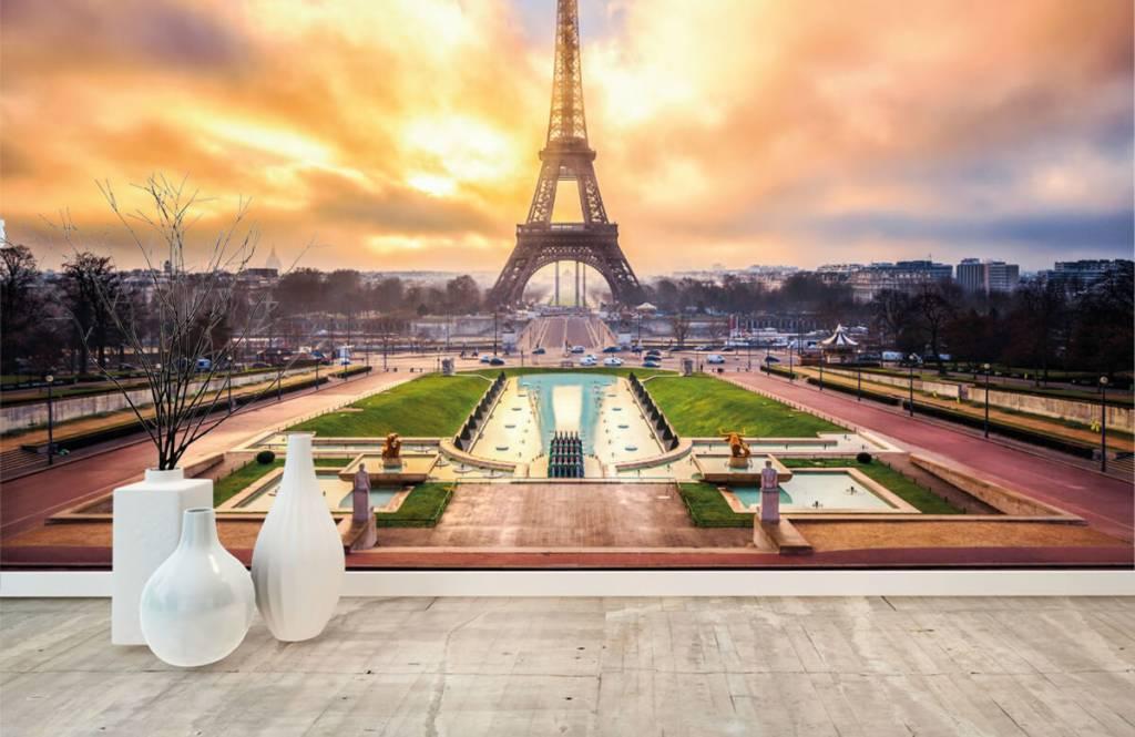 Städte - Tapete - Eiffelturm - Schlafzimmer 1
