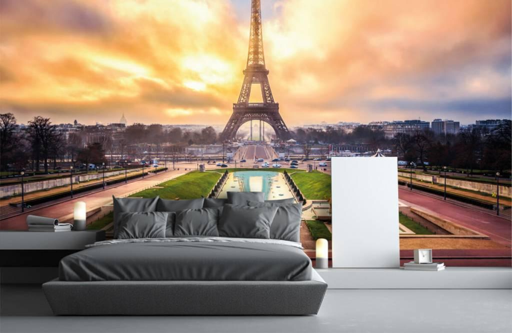 Städte - Tapete - Eiffelturm - Schlafzimmer 3