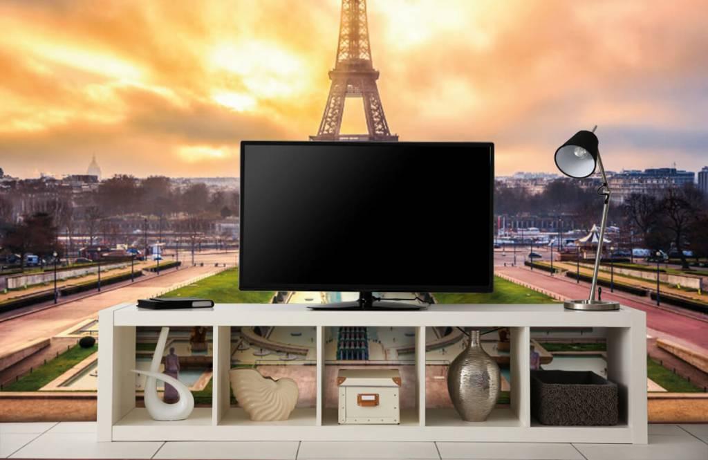 Städte - Tapete - Eiffelturm - Schlafzimmer 5
