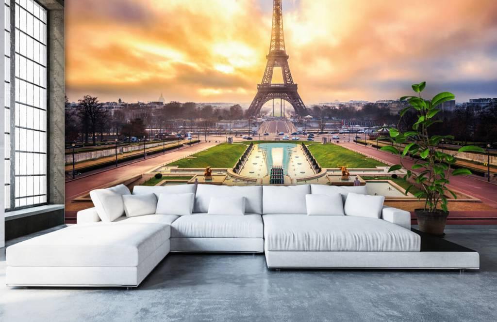 Städte - Tapete - Eiffelturm - Schlafzimmer 6