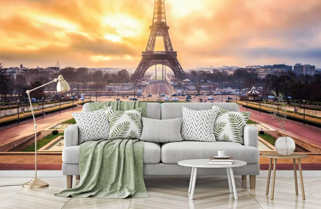 Städte - Tapete - Eiffelturm - Schlafzimmer 8