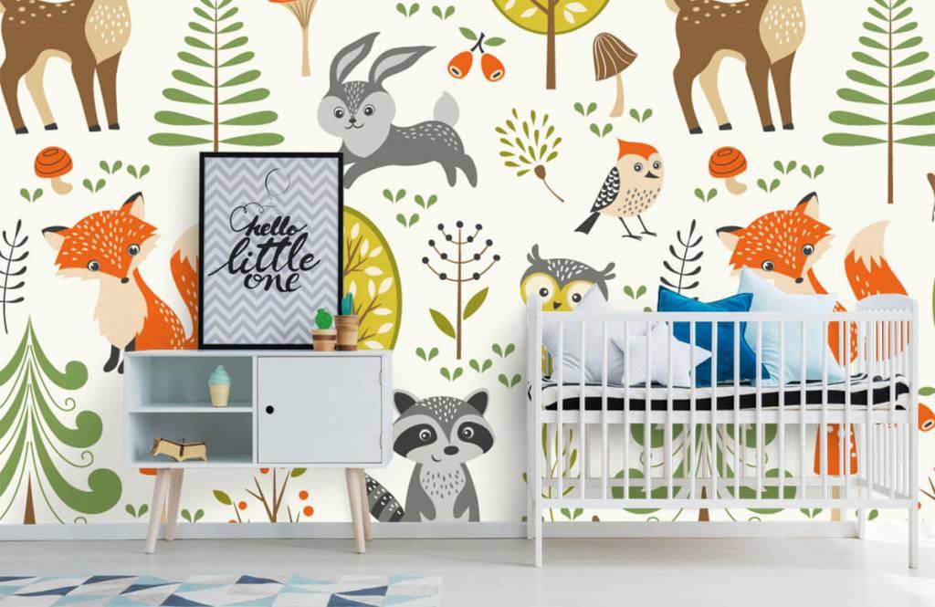 Andere - Tiere im Wald - Kinderzimmer 1