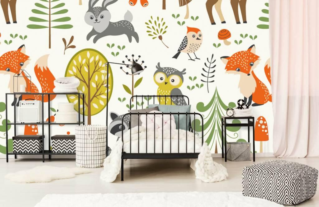Andere - Tiere im Wald - Kinderzimmer 2