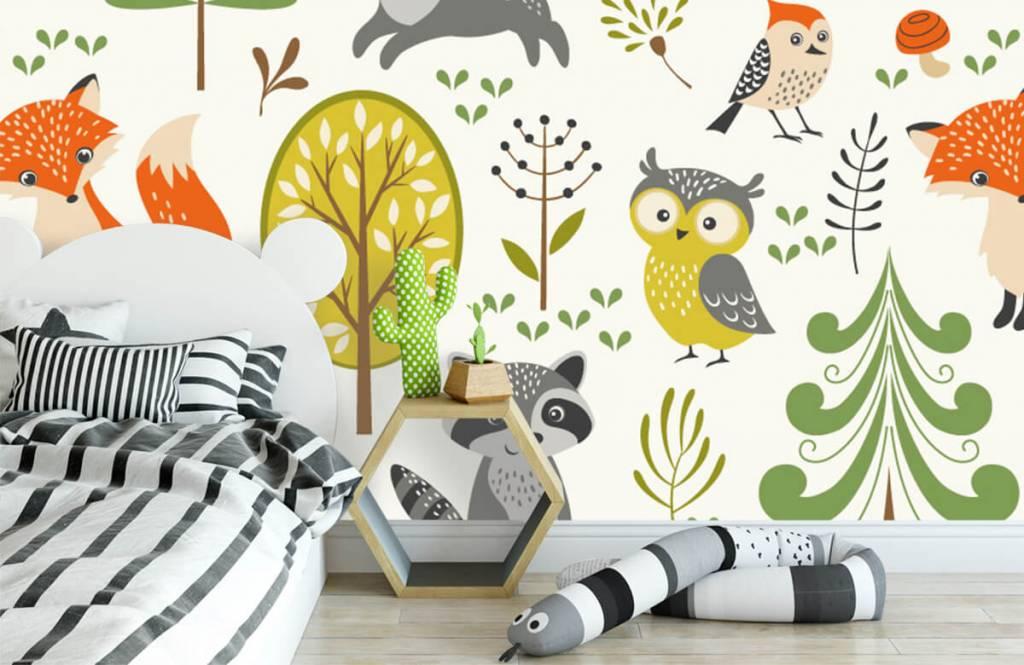 Andere - Tiere im Wald - Kinderzimmer 3