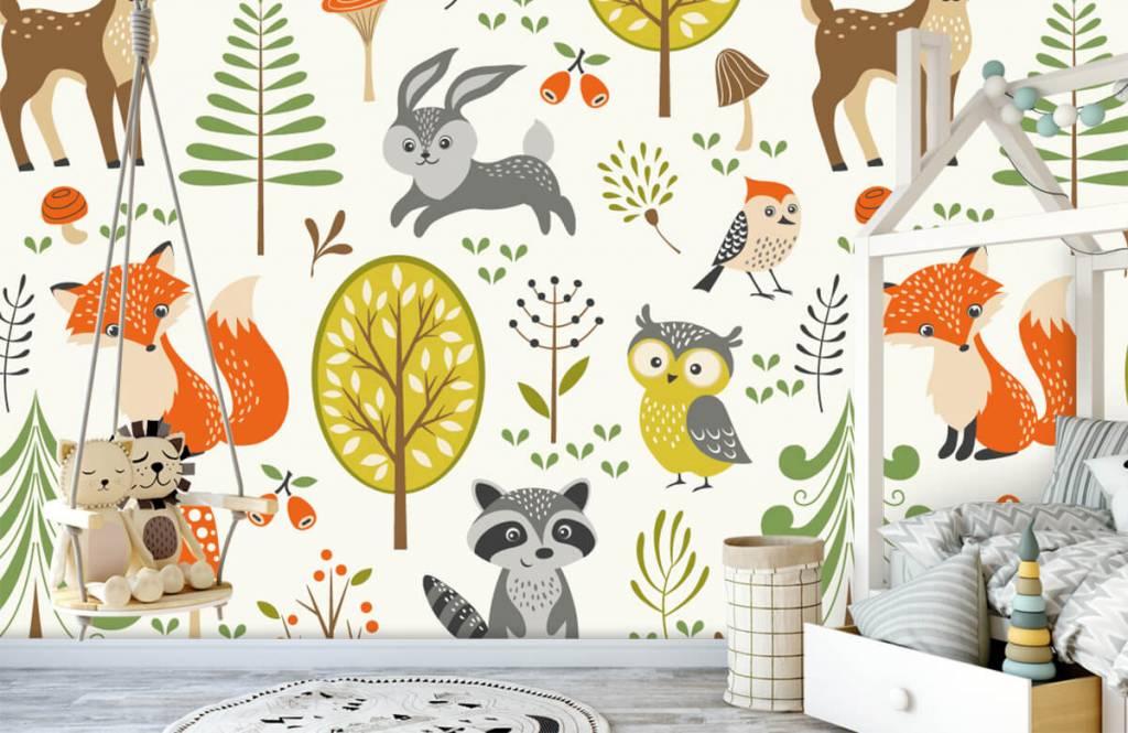 Andere - Tiere im Wald - Kinderzimmer 4