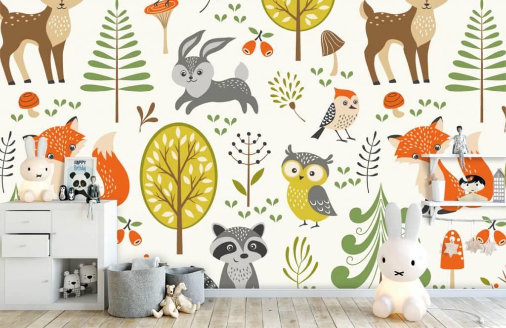 Andere - Tiere im Wald - Kinderzimmer 5