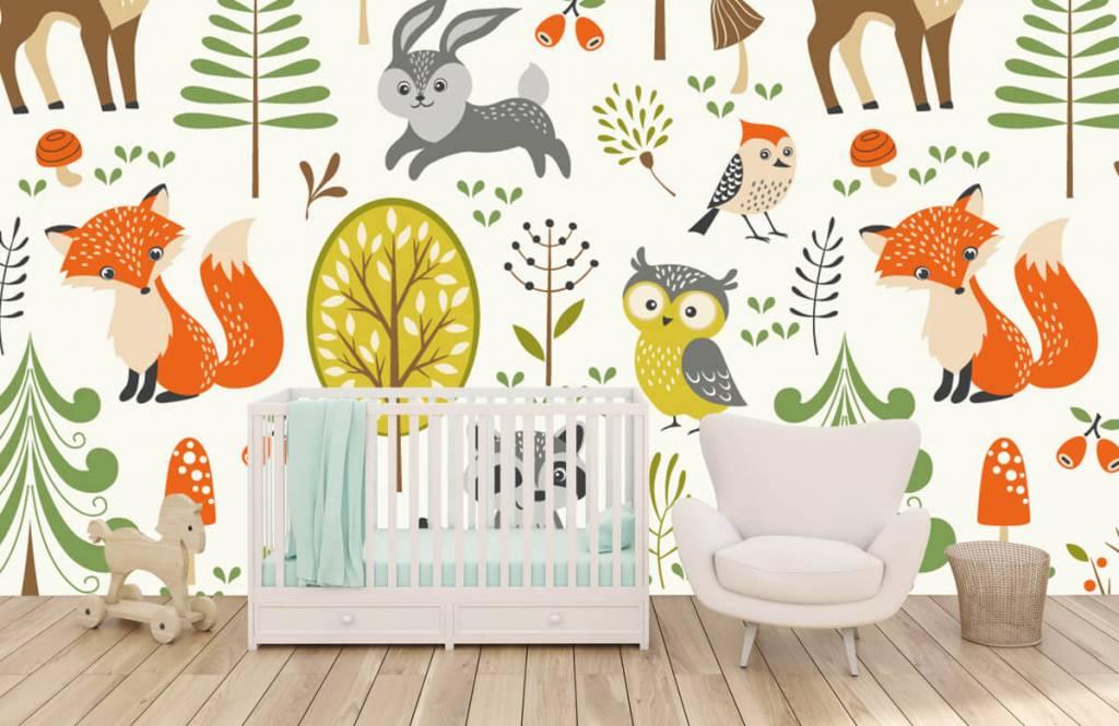 Andere - Tiere im Wald - Kinderzimmer 6