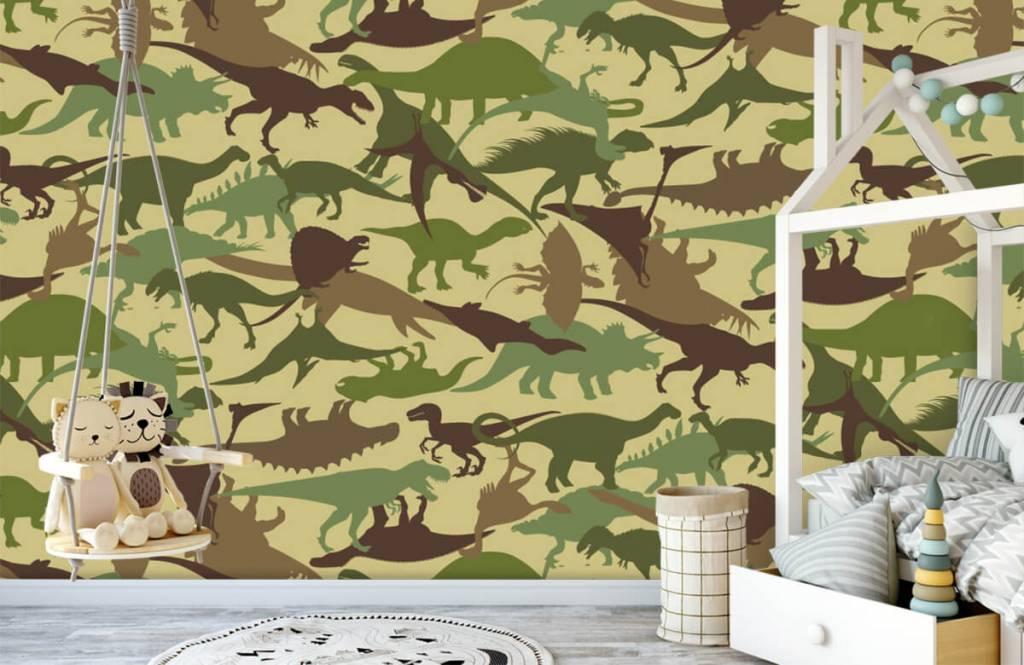 Dinosaurier - Dino camouflage - Kinderzimmer 1