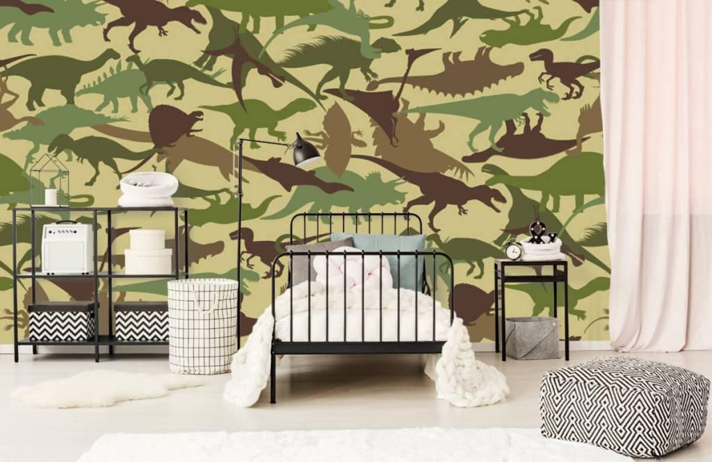 Dinosaurier - Dino camouflage - Kinderzimmer 2