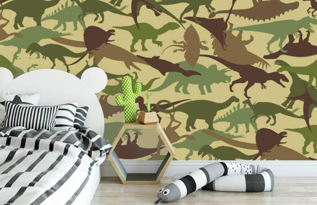 Dinosaurier - Dino camouflage - Kinderzimmer 3