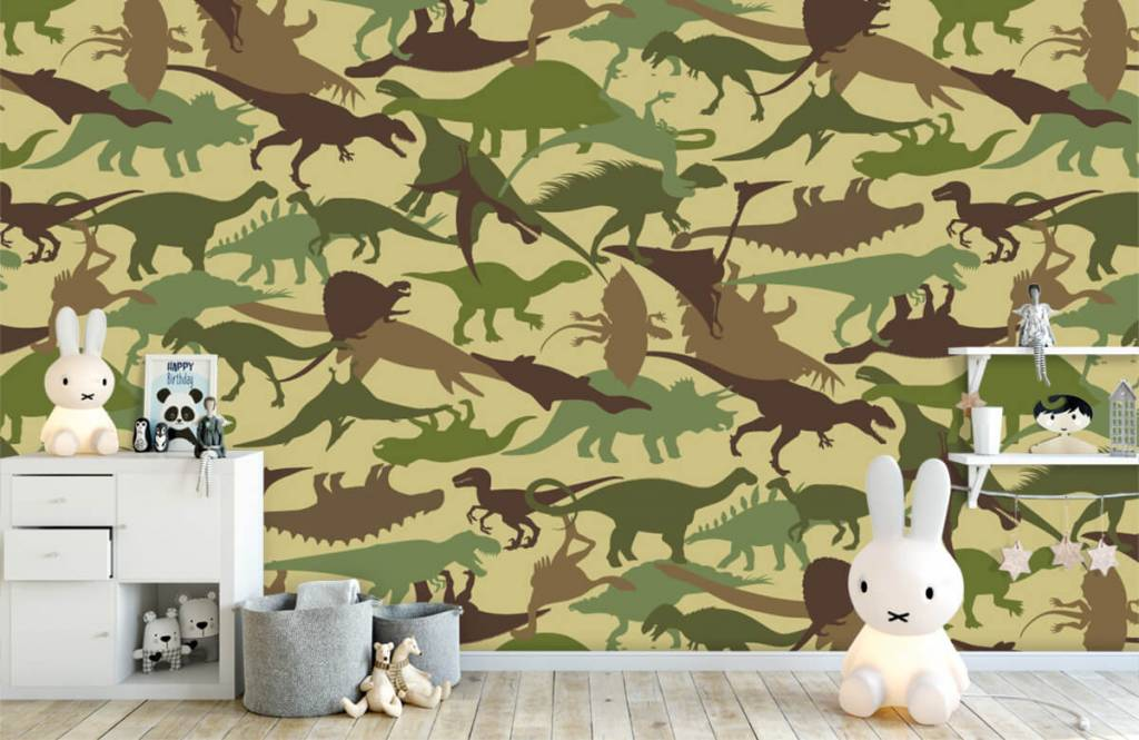 Dinosaurier - Dino camouflage - Kinderzimmer 4