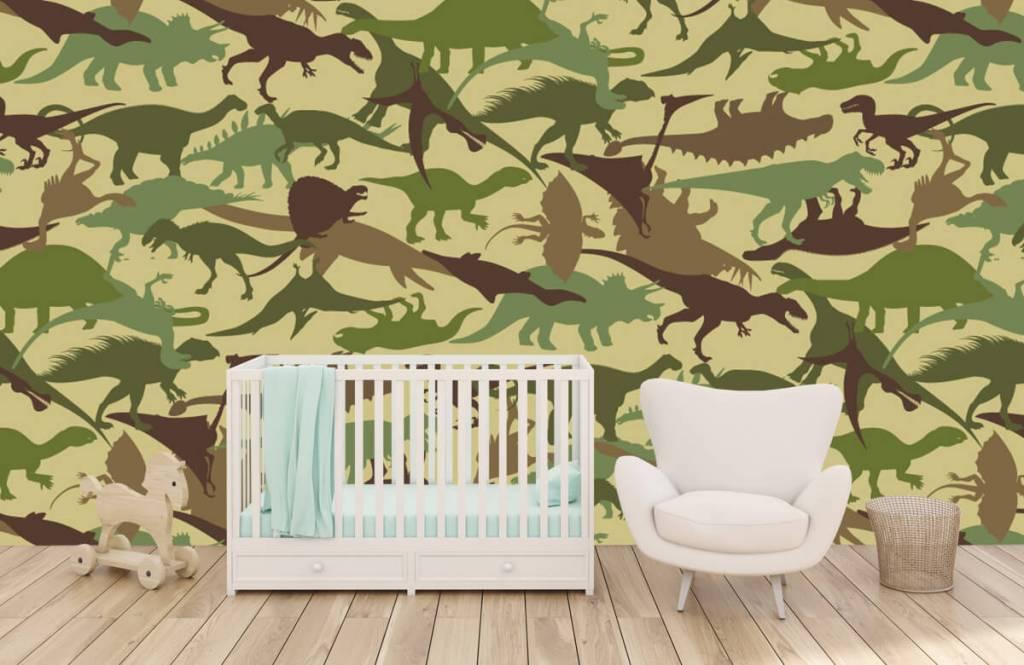 Dinosaurier - Dino camouflage - Kinderzimmer 5