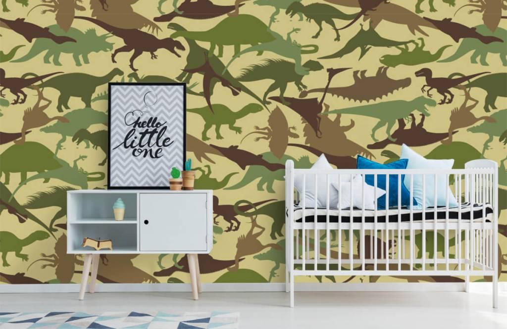 Dinosaurier - Dino camouflage - Kinderzimmer 6