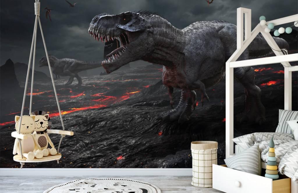 Dinosaurier - 3D Dino - Kinderzimmer 2