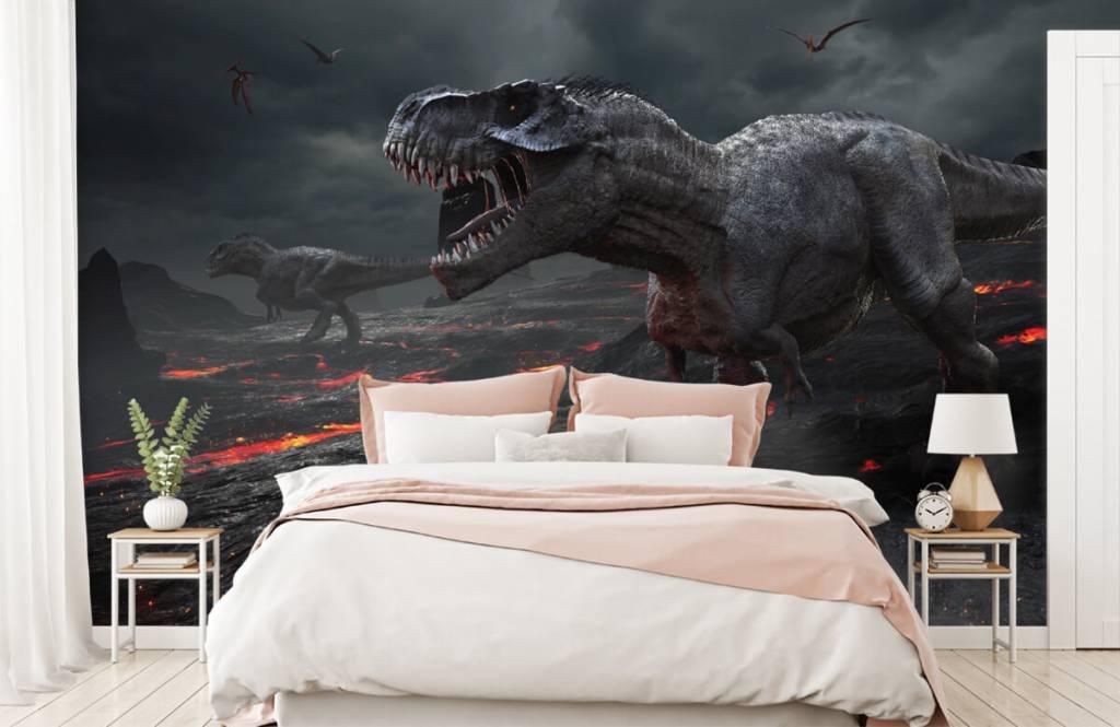 Dinosaurier - 3D Dino - Kinderzimmer 3