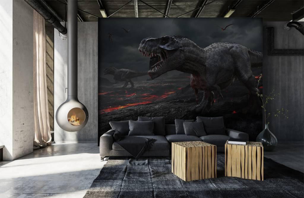 Dinosaurier - 3D Dino - Kinderzimmer 4